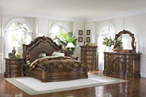 Amazon Com Pulaski San Mateo Sleigh Bedroom Set Sale