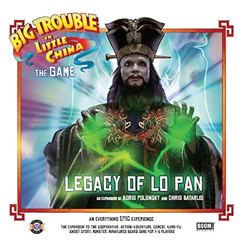 Big Trouble in Little China The Game - The Legacy of Lo Pan Expansion