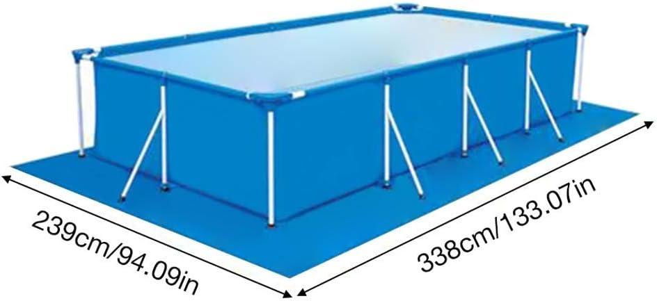 Junean Tapis de Sol carr/é pour Piscine Protecteur de Sol rectangulaire pour Tapis de Sol de Piscine pour piscines Hors Sol