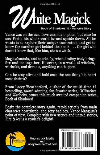 White Magick (Book of Shadows - Vance's Story): Lacey Weatherford