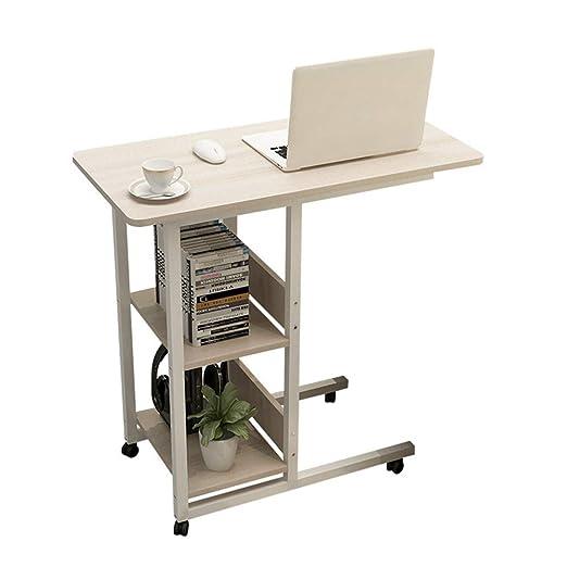 OVEA Mesa De Computadora con Ruedas,Regulable En Altura PortáTil ...