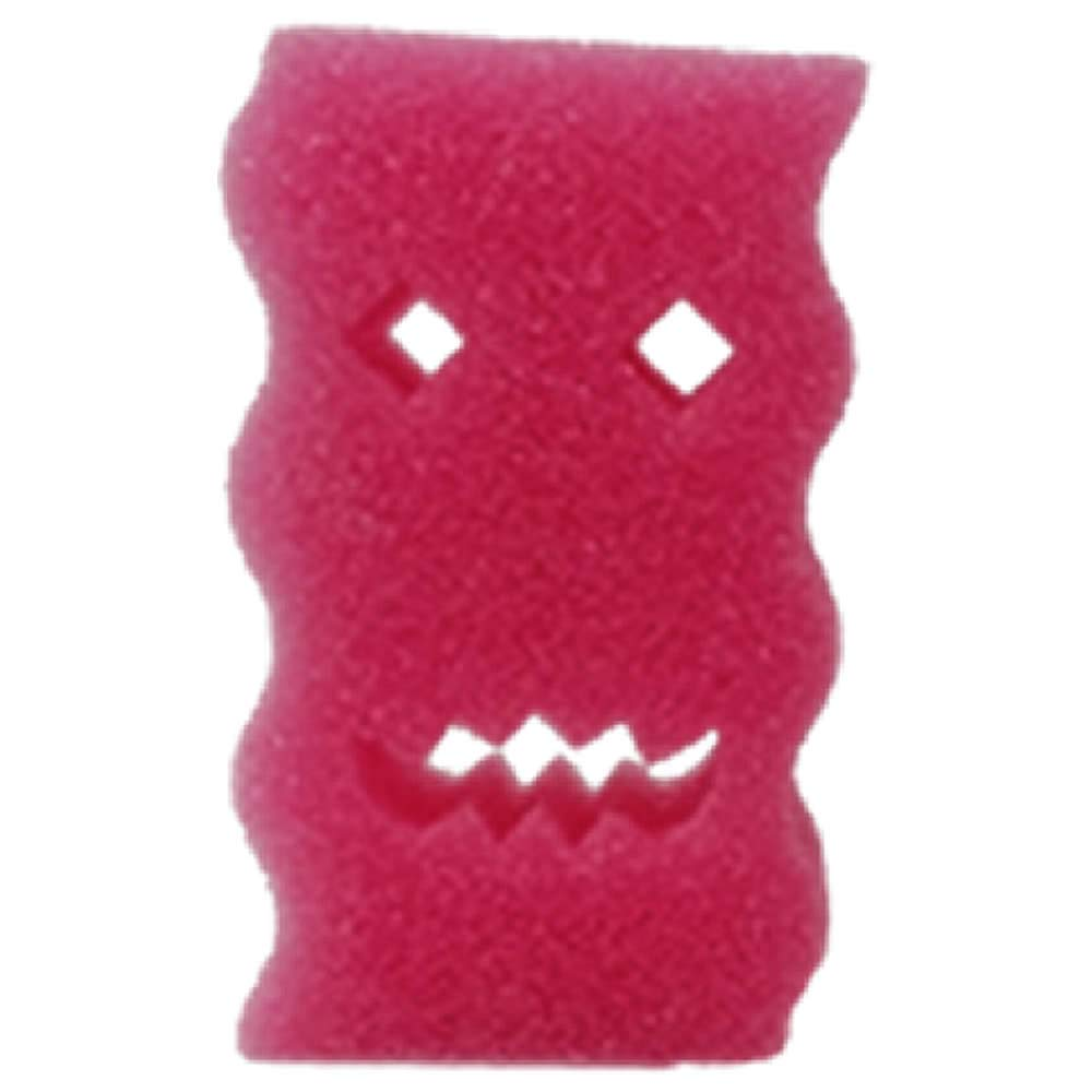 Monster Scrubby Sponges (30 Pack) - Stronger and Larger Than Scrub Daddy & Rinses Clean! Soft in Hot Water and Hard in Cold Water! Amazing Sponges Will Not Scratch Any Surface! Made in USA! by Monster Scrubby