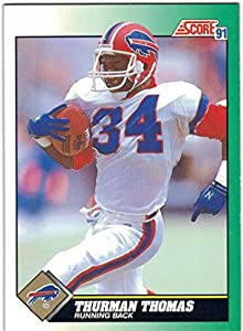 1991 Score & Rookie Traded Buffalo Bills Team Set with 3 Thurman Thomas & Andre Reed - 26 Cards