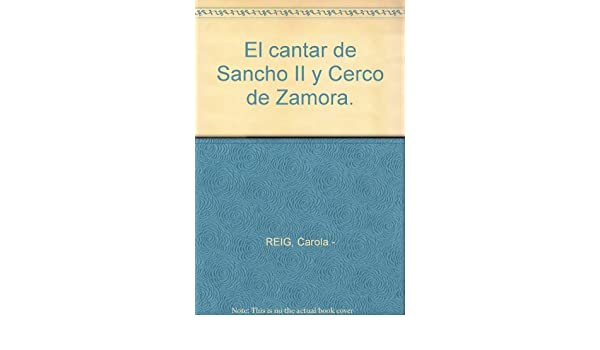 El cantar de Sancho II y Cerco de Zamora. Tapa blanda by ...