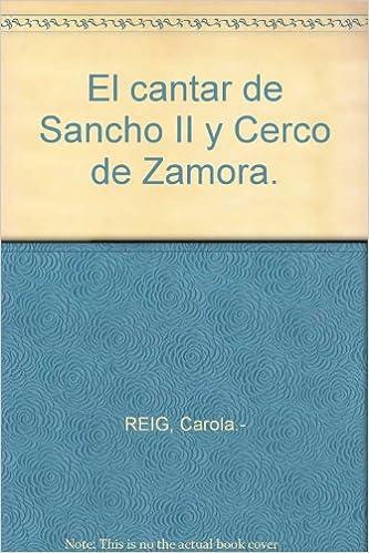 Amazon.com: El cantar de Sancho II y cerco de Zamora ...
