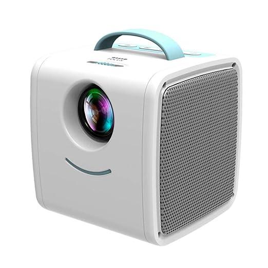 LINHU HD Mini portátil proyector casero, Ayuda máxima 1920X1080 ...