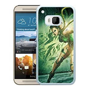 street fighter x tekken cammy girl legs tattoo hand White High Quality Custom HTC ONE M9 Protective Phone Case