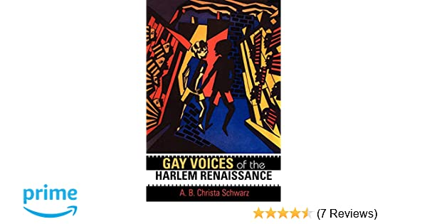Amazoncom Gay Voices Of The Harlem Renaissance Blacks In The