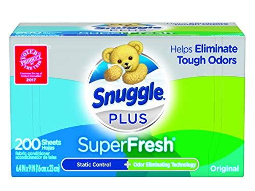 🥇 Snuggle Plus – Sábanas para secadora