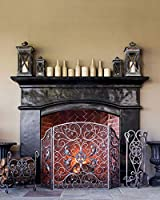 Balsam Hill Estate Fireplace Screen and ...