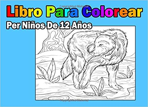 Buy Libro Para Colorear Per Niños De 12 Años (Spanish Edition) Book ...