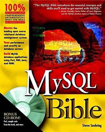 MySQL Bible by Wiley