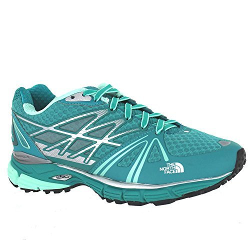 The North Face Ultra Equity Trail Running Shoe - Women's Jaiden Green/Beach Glass Green (8) by The North Face