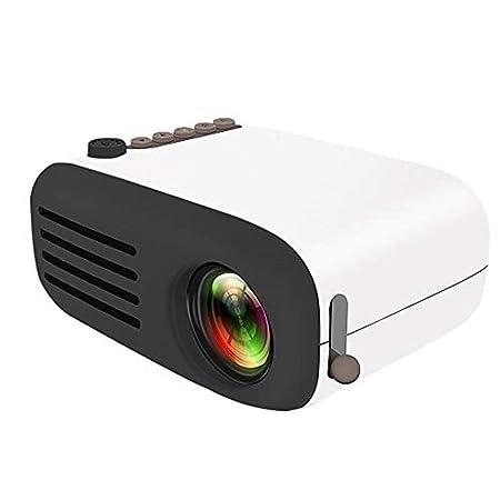 Proyector Lente de enfoque de reproducción mini proyector LED mini ...