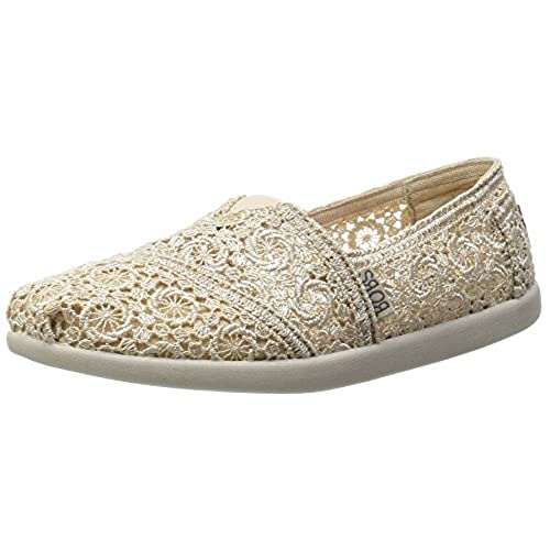 BOBS from Skechers Women's Bobs World Cartwheels Flat, Natural Cartwheels,  9 M US