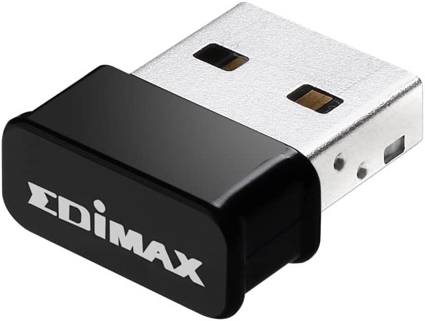 EW-7822ULC, Edimax AC1200 Wi-Fi USB Adapter Supports Web 2, MU-Mimo, Nano Size, for Windows, Mac OS, Supports Computer/PC/Laptop/Desktop Windows 7/8/8.1/10, MAC OS 10.7 or above and Linux