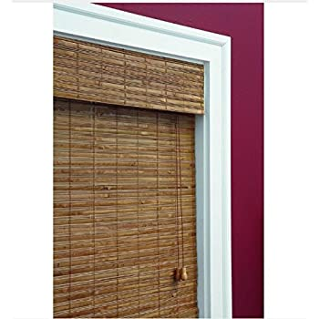 Honey Bamboo Weave Roman Shade, 72 in. Length (Price Varies by Size)