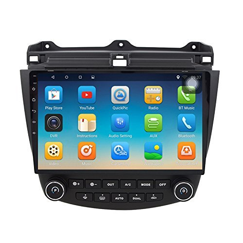 Honda Accord Stereo - ChoGath 10.2 Inch 2G RAM Android 7.0 Car Audio GPS Navigation for Honda Accord 7 2003-2007 Head Unit with 1080P Video Bluetooth Mirror link