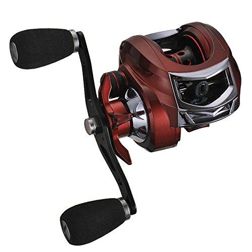 Ocamo Drum Fishing Reel Left/Right-Handed Strong Metal Drop Design Bearings...