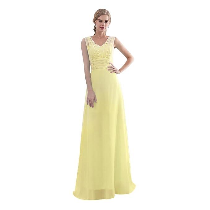 0147ce94db Beauty-Emily - Vestido Largo Multiuso para Dama de Honor para Boda ...