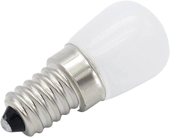 LIJUMN - Bombilla LED para frigorífico (E14, T22, 220 V, para campana de microondas, máquina de coser: Amazon.es: Hogar