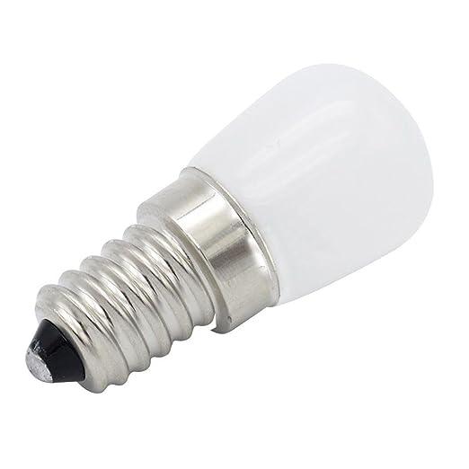 LIJUMN - Bombilla LED para frigorífico (E14, T22, 220 V, para ...