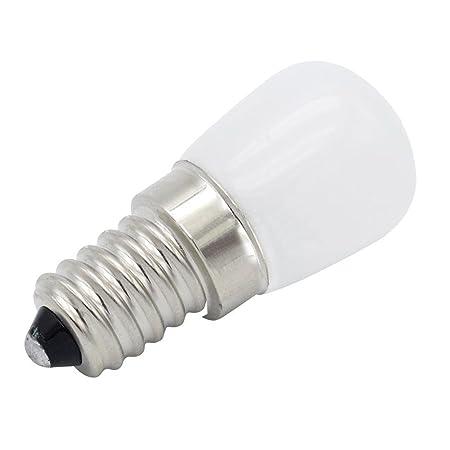 LIJUMN - Bombilla LED para frigorífico (E14, T22, 220 V, para Campana de microondas, máquina de Coser