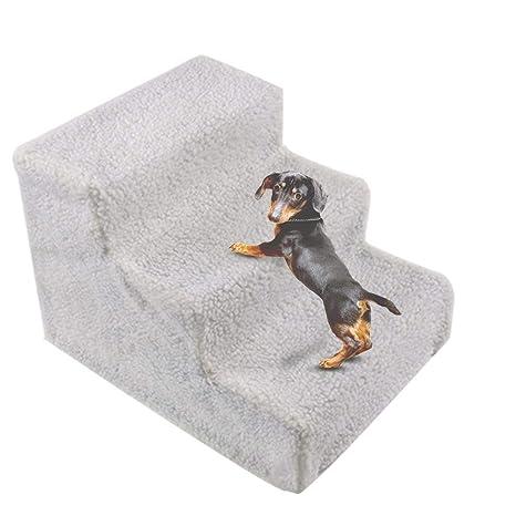 Sue-Supply Escalera para Mascotas Pasos para Gatos y Perros Escaleras para Escalar Plataforma para