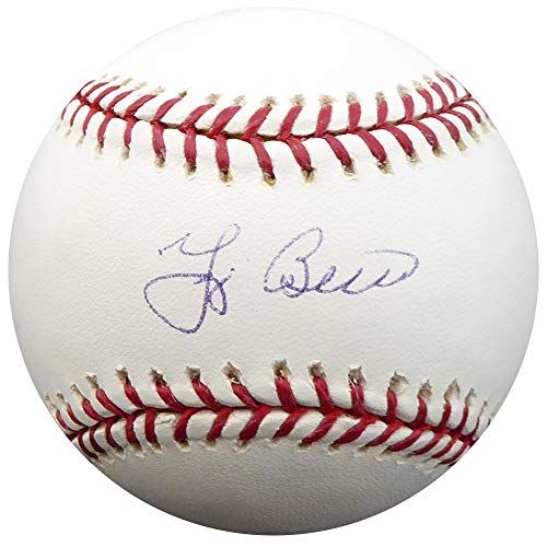 (Yogi Berra Autographed Signed Official MLB Baseball New York Yankees TriStar Holo #5081447)