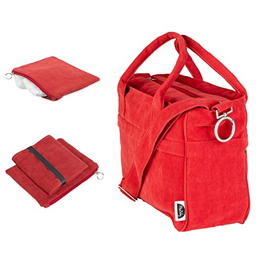 mobaby-deluxe-chic-plush-diaper-bag-tote-travel-accessories-included-comfortable-baby-changing-mat-e