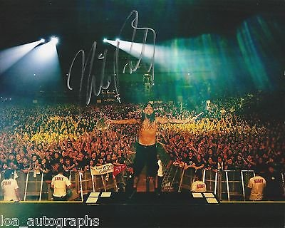 Mike Portnoy hand SIGNED 8x10 Photo Dream Theater drummer #2 Winery Dogs X PROOF by Loa_Autographs