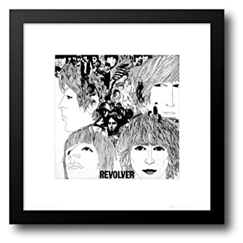 Amazon.com: The Beatles: Revolver 20x20 Framed Art Print by Voorman ...
