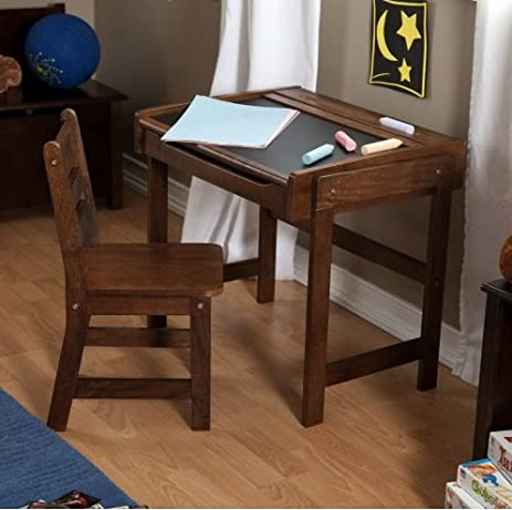 School Desk And Chair Set Combo Child Study Student Kids Antique Organizer  Storage For Sale Writing - Amazon.com: School Desk And Chair Set Combo Child Study Student