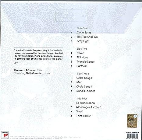 FRANCESCO TRISTANO - Piano Circle Songs - Amazon com Music