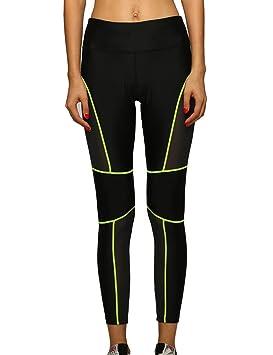 Lorata Femmes Femme Stitching réseau Fil Sport Pantalon de Jogging Yoga  Pantalon de Jogging Collants Pantalons 54a61398d08