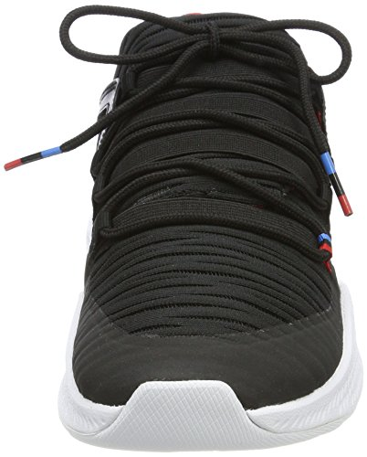 Nike Herren Jordan Formula 23 Low Q54 Gymnastikschuhe Schwarz (Black/italy Blue/university Red)
