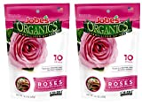 buy Jobe's Organics Rose Fertilizer Spikes, 3-5-3 Time Release Fertilizer for All Flowering Shrubs, 10 Spikes per Package (2, Original Version) now, new 2020-2019 bestseller, review and Photo, best price $21.99
