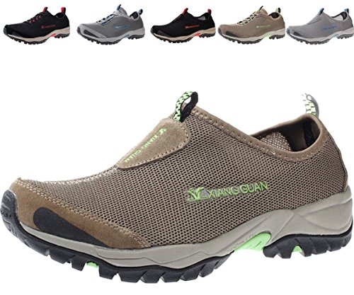 Ultralight Wading Shoe (Mens Water Shoes Slip On Quick Drying Lightweight Beach Pool Walking Shoe)