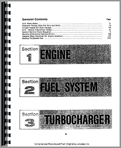 International Harvester E200 Elevating Scraper Engine Service Manual [Jan 01, 2017] International Harvester