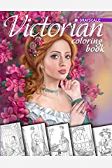 Victorian Coloring Book. Grayscale: Coloring Book for Adults Paperback