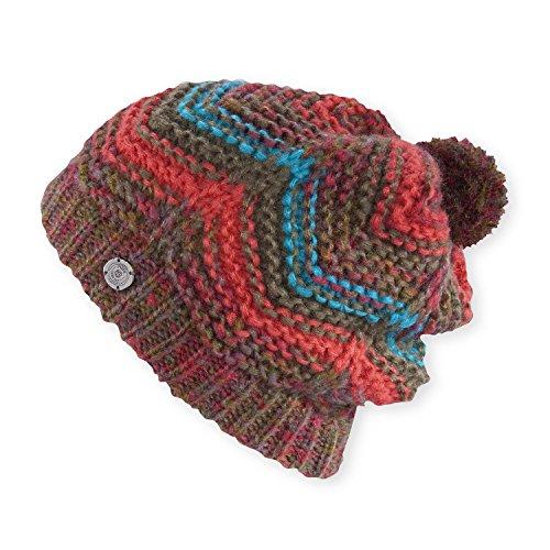 Vibrant Red Wool Hat (Pistil Imelda Hat, Garnet, One Size)