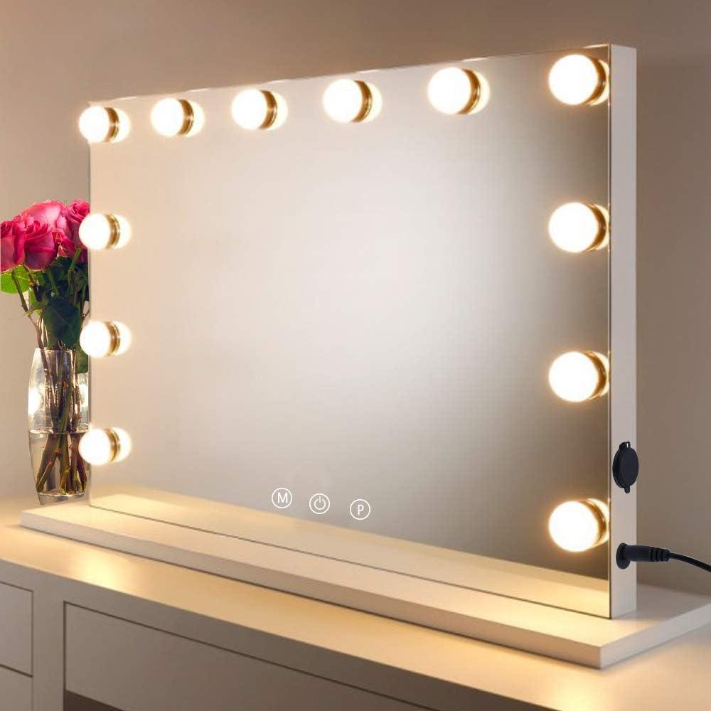 HOMPEN Vanity Mirror Makeup