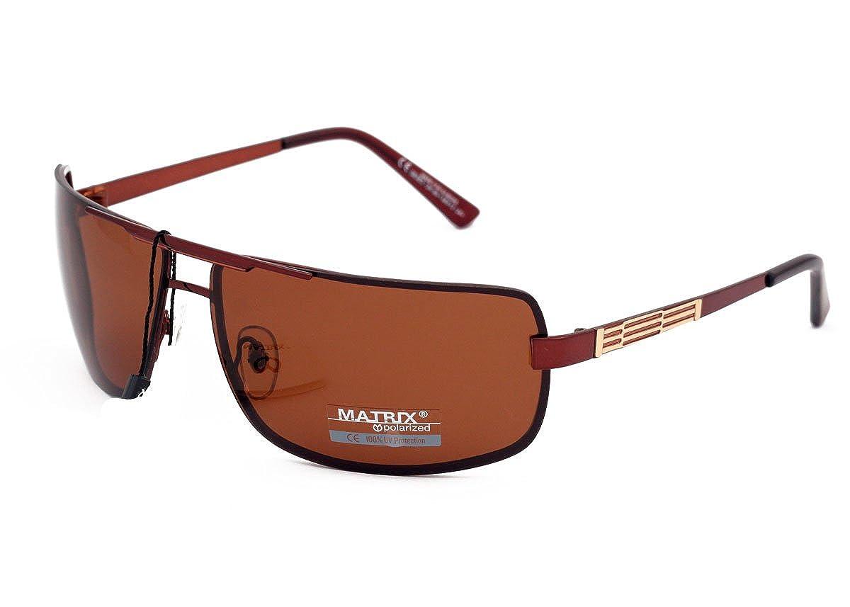 Matrix Drive - Gafas de sol - para hombre Marrón Brown ...