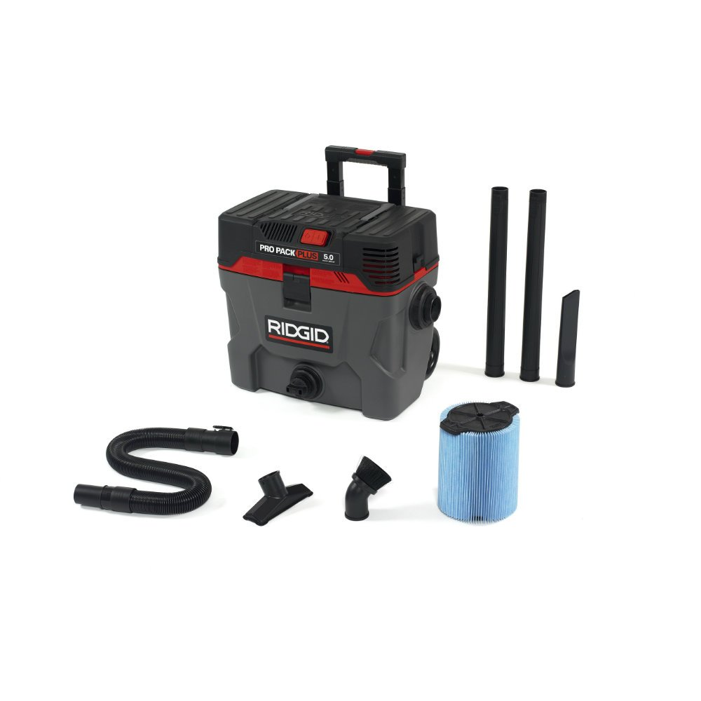 Ridgid 50328 Pro Pack Wet/Dry Vacuum, 10 gallon, Red by Ridgid