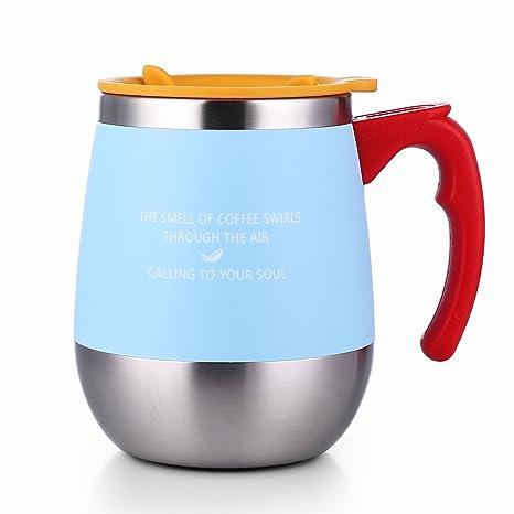 Amazon.com: ONEDAY SB60138 taza de café aislada de acero ...