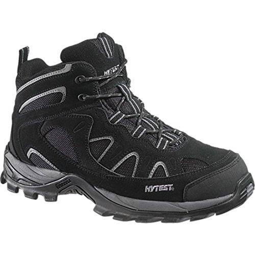 12350 Hytest Men's Sport Safety Boots - Black - 8.0\M