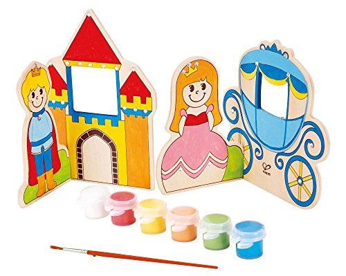 Wooden Fairy Castle - Hape Paint it Yourself Fairy Tale Kid's Wooden Arts and Crafts Kit