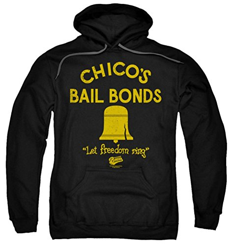 The Bad News Bears Chico's Bail Bonds Pull Over Hoodie 2XL