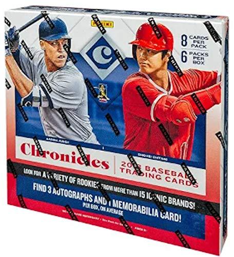 2018 Panini Chronicles MLB Baseball HOBBY box (6 pk)