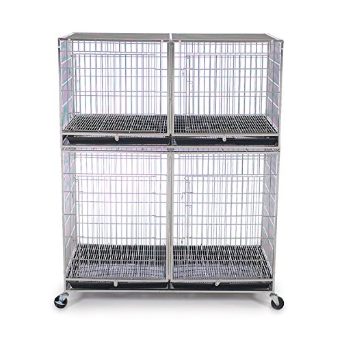 Proselect ZW55301 87 Stainless Steel Modular Cage Bank Kit